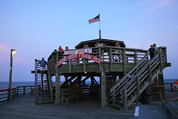 The cherry grove fishing pier north myrtle beach south for Fishing piers in myrtle beach